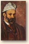 Zelfportret van Cézanne (circa 1878)