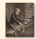 César Auguste Franck (1822-1890), korte tijd leermeester van Guillaume Lekeu