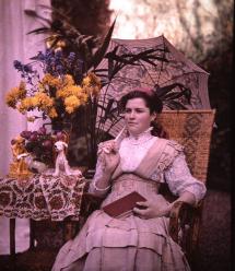 Foto van Maurice Rambert, omstreeks 1907