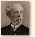 Edouard Lalo, de componist van 'Le Roi d'Ys', zijn enige voltooide opera