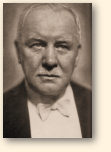 De componist Franz Léhar op latere leeftijd
