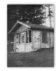 Mahlers Arbeitshaus in Toblach 1907-1910