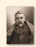 Stéphane Mallarmé, in 1896 gefotografeerd door Nadar