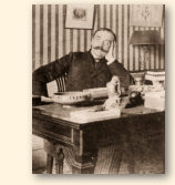 De schrijver Octave Mirbeau