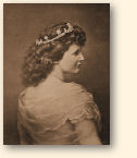 De auteur en prinses Carmen Silva