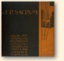 Ver Sacrum, editie uit 1898